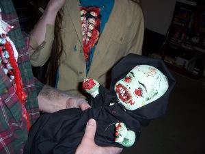 Zombie baby!