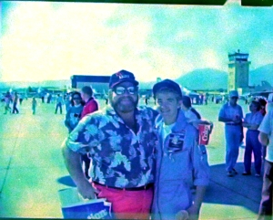 airshow Dad and I